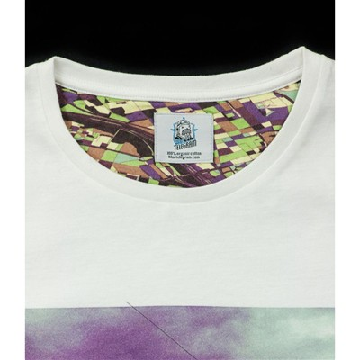 BLUE TELEGRAM T-shirt - blanc
