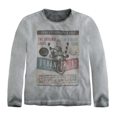 PEPE JEANS LONDON TURNER - T-shirt - gris