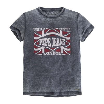PEPE JEANS LONDON TIMOTHY - T-shirt - encre