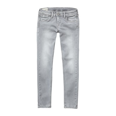PEPE JEANS LONDON SWIRL - Jean slim - gris