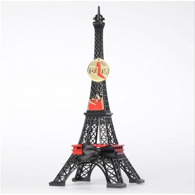 MERCI GUSTAVE Tour Eiffel Originale Capital Mod - Statue - noir