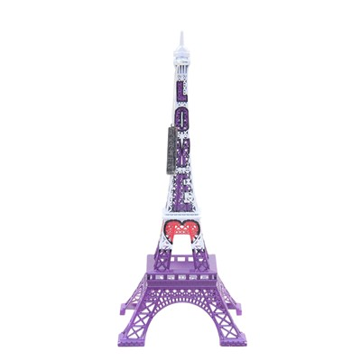 MERCI GUSTAVE Tour Eiffel Originale Love - Statue - multicolore