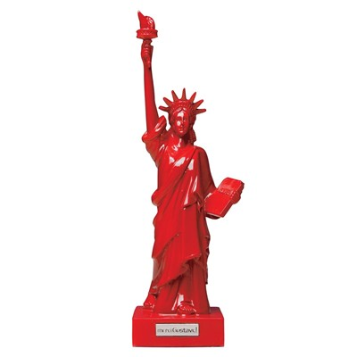MERCI GUSTAVE Mini Miss Toro - Statuette - rouge