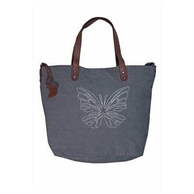 KID'ABORD Pack Butterfly - Sac à main - gris