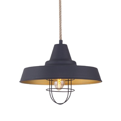 Industryal Light suspension - noir