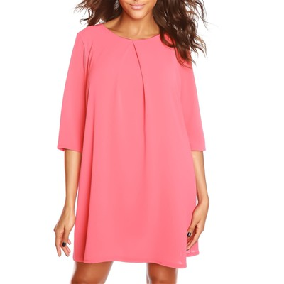 Robe tunique - corail