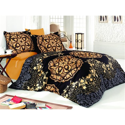 Cotton Box Conjunto de cama - negro