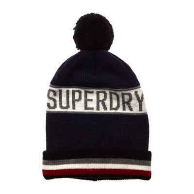 Super Stripe - Bonnet - bleu marine