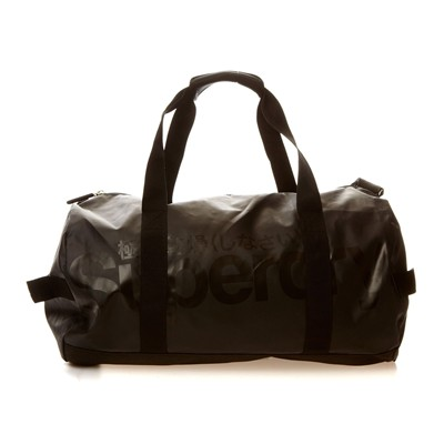 SUPERDRY Tarp Barrel - Sac à main - denim noir