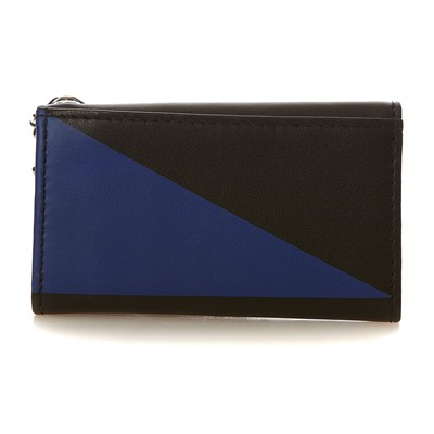 DIESEL BLOCKING LEATHER KEY CASE - Petite maroquinerie - bicolore