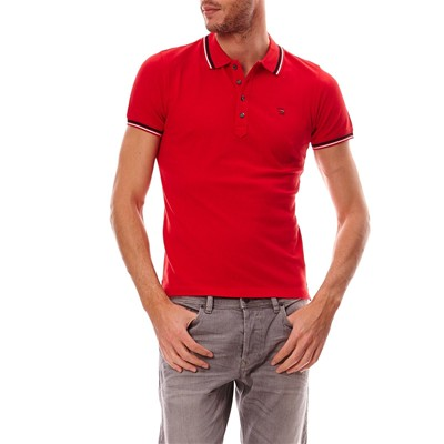 DIESEL Oin - Polo - rouge