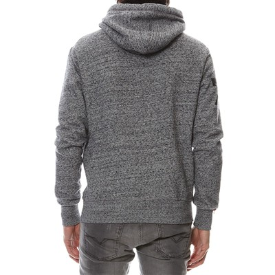 SUPERDRY Sweat effet chiné - gris