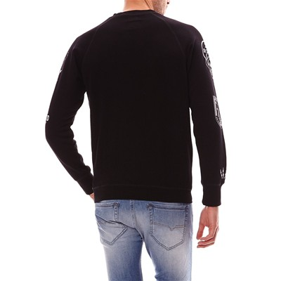 DIESEL HUN - Sweat-shirt - noir