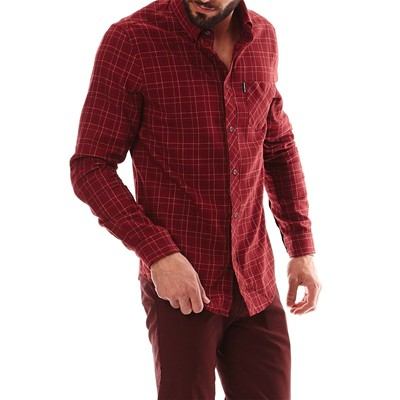 Ben Sherman chemise - bordeaux