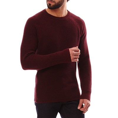 BEN SHERMAN Pull - bordeaux