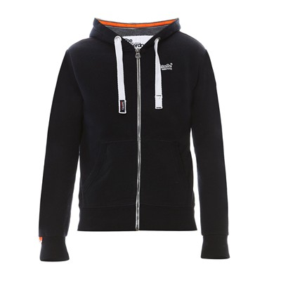 SUPERDRY Sweat à capuche - bleu marine