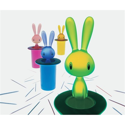 Magic Bunny - Porte cure-dents - bleu