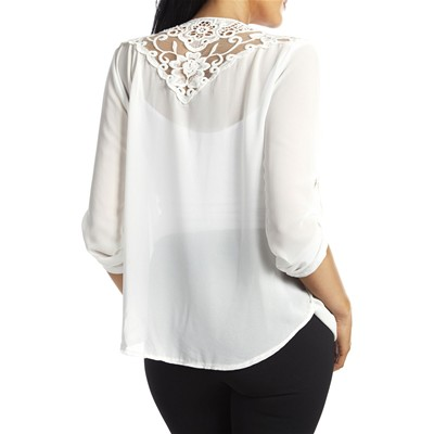 BETTY MOORE Top - blanc