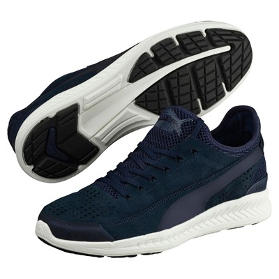 PUMA Ignite Sock - Baskets basses - bleu marine