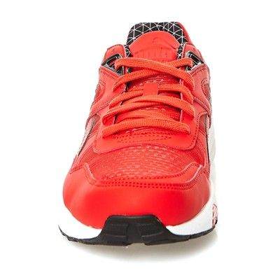 PUMA R698 LS PWRWARM - Baskets - rouge