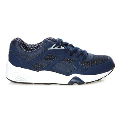 PUMA R698 LS PWRWARM - Baskets - bleu