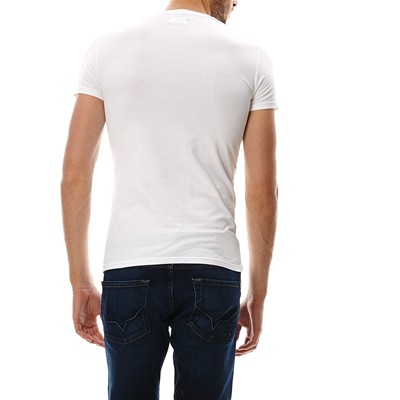 PEPE JEANS LONDON Original stretch - T-shirt manches courtes - blanc