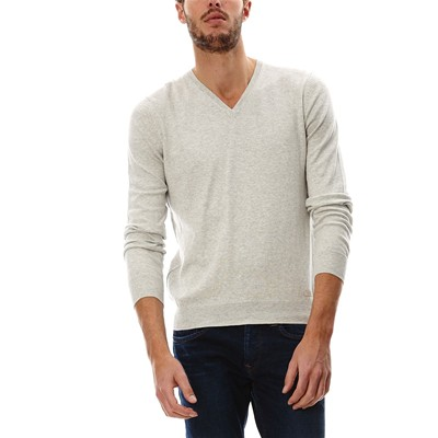 PEPE JEANS LONDON New Justin - Pull - gris clair