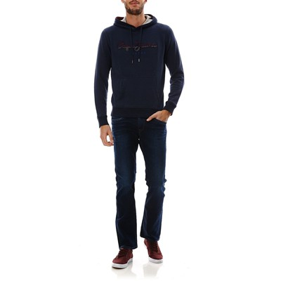 PEPE JEANS LONDON Styx - Sweat à capuche - bleu marine