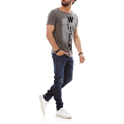 DIESEL Sleenker - Jean slim - denim bleu