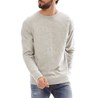 DIESEL Ore Light - Sweat-shirt - gris clair