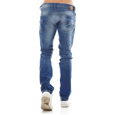 Thavar - Jean slim - denim bleu