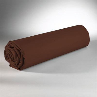 SWEET HOME Drap housse double face - choco