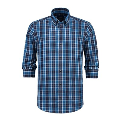 MCGREGOR Hector Charly Marco - Chemise - bleu marine