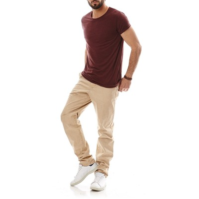 JACK & JONES T-shirt - bordeaux