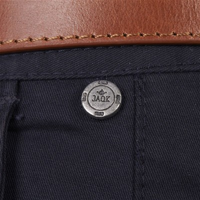 JAQK Rat Pack - Pantalon chino - bleu marine