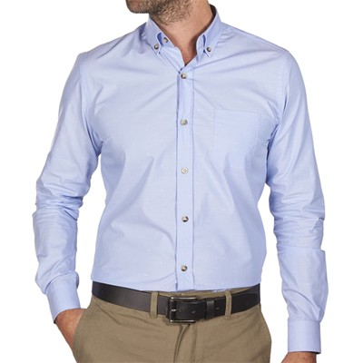 JAQK Foxwood Gustave - Chemise - bleu clair