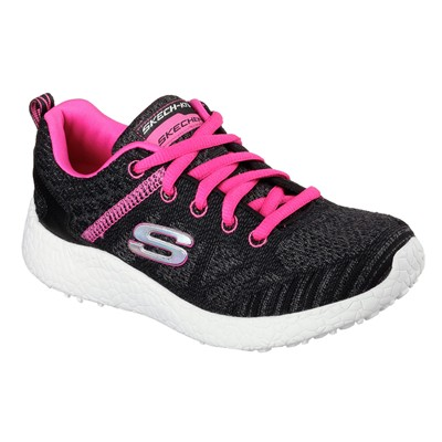 SKECHERS BURST - Baskets basses - noir