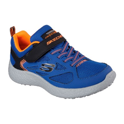 SKECHERS BURST - Baskets - bleu
