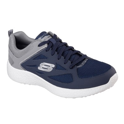 SKECHERS BURST - Baskets basses - bleu marine