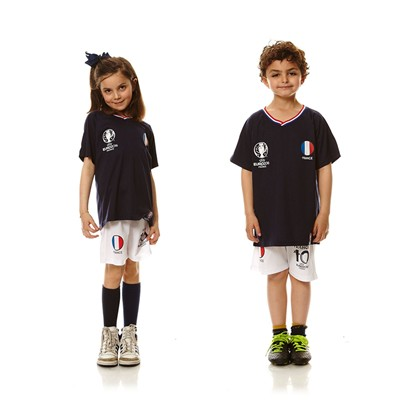 UEFA EURO 2016 Ensemble T-shirt et short France - blanc