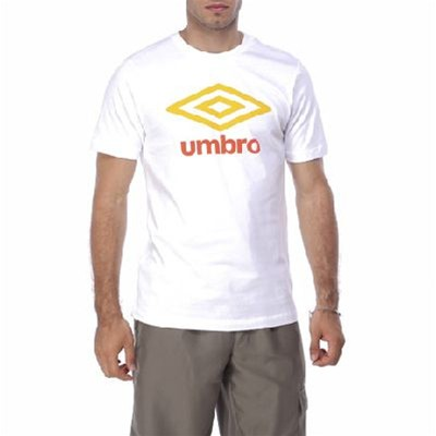 Umbro MC vs Logo - Camiseta - blanco