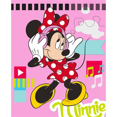 IFILHOME Disney - Plaid Minnie Mouse - imprimé