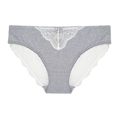 MARIE MEILI Cayla - Slip - gris chine