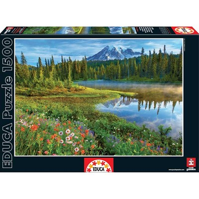 Educa Puzzle parc national - multicolore