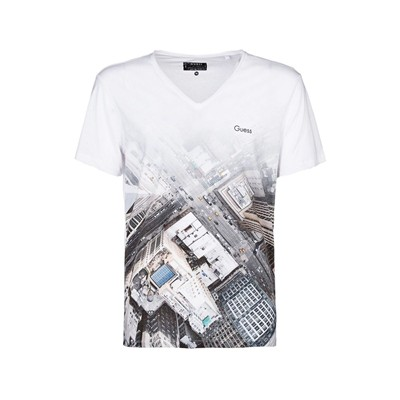 GUESS Departure - T-shirt - blanc