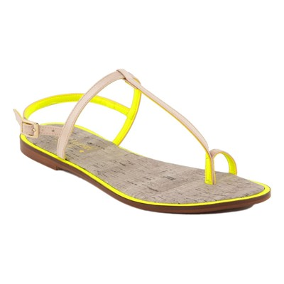 zapatillas Mine Vaganti Sandalias amarillo