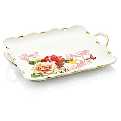 NOBLE LIFE KITCHEN Plateau en porcelaine - imprimé