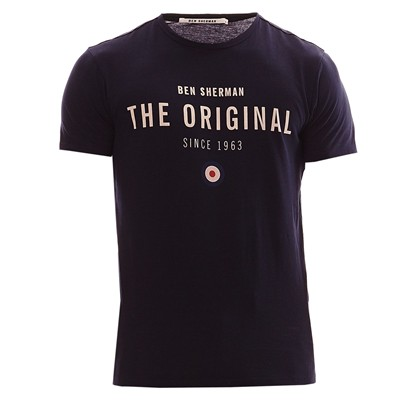 BEN SHERMAN The original - T-shirt - bleu marine