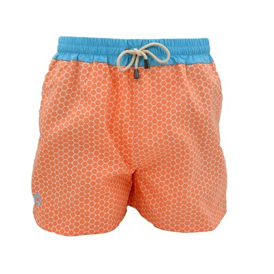 DAGOBEAR Short de bain - orange