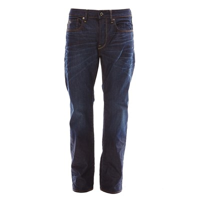 3301 straight - Jean droit - denim bleu